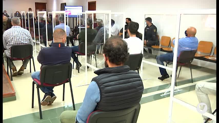 El primer macrojuicio por narcotráfico en Algeciras se prolongará por incidencias técnicas