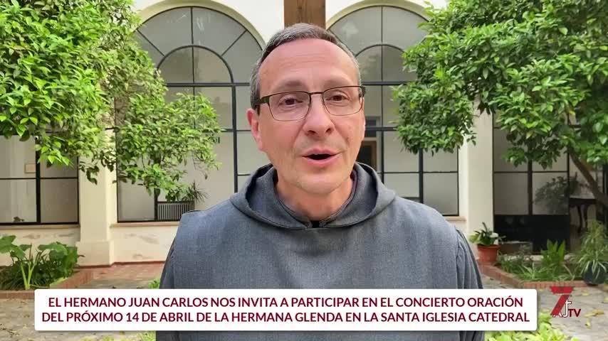 Concierto oración de la hermana Glenda en la Catedral de Jerez