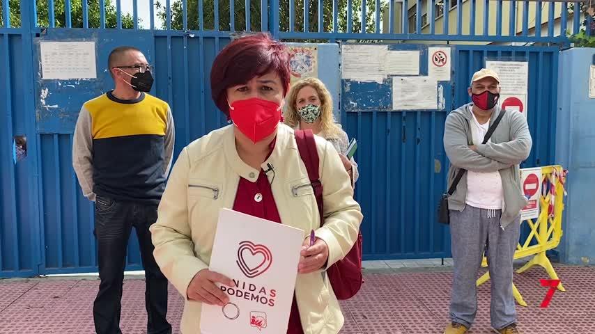 Piden que se garantice la limpieza de los colegios de Málaga contra el Covid-19