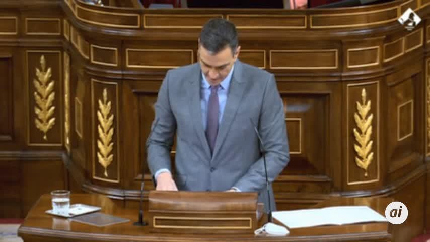 Pedro Sánchez abre el Pleno del Congreso reivindicando la II República como fecha clave