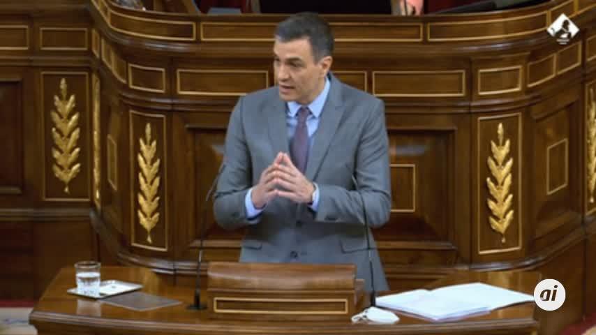 Sánchez garantiza en el Congreso que se cumplirá la vacunación