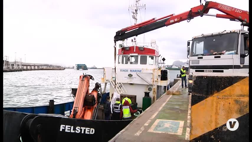 Hallan más de 7 toneladas de hachís en un remolcador en el Puerto de Algeciras