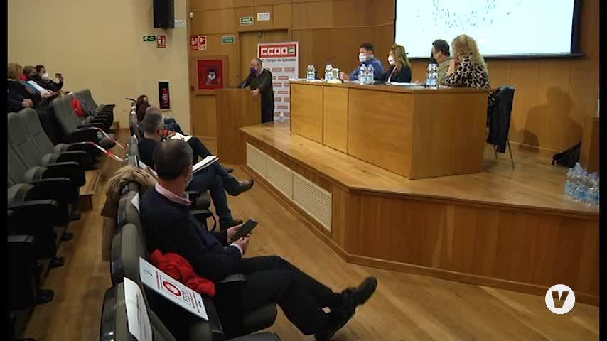 Triano seguirá al frente de una renovada dirección de CCOO en el Campo de Gibraltar