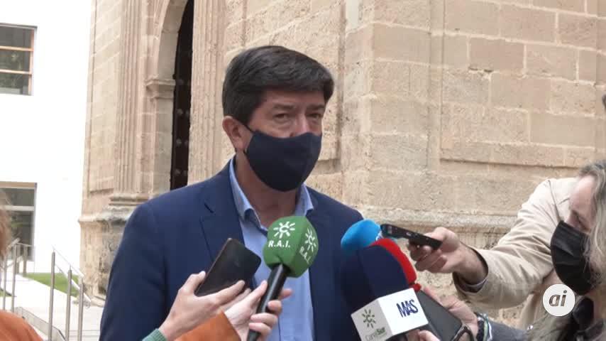Juan Marín descarta medidas más restrictivas
