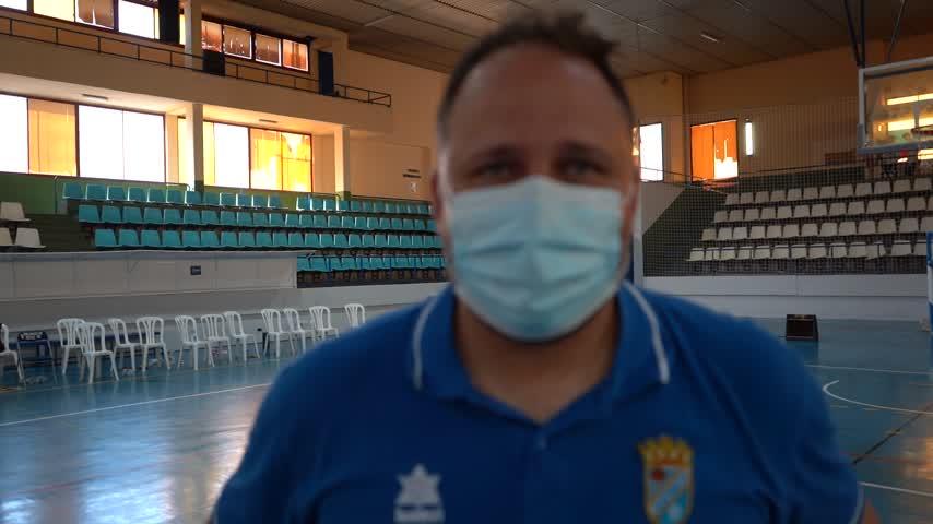Adrián López comentó el triunfo del Xerez CD Baloncesto ante el EDM Arcos en semifinales