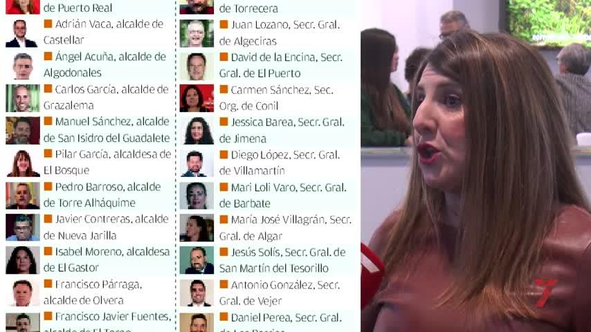 Veintinueve cargos públicos y orgánicos del PSOE de Cádiz reclaman primarias andaluzas ya