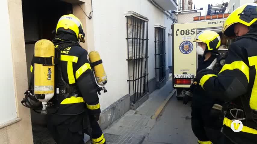 Fallece un niño de tres años en el incendio de una vivienda en El Puerto de Santa María
