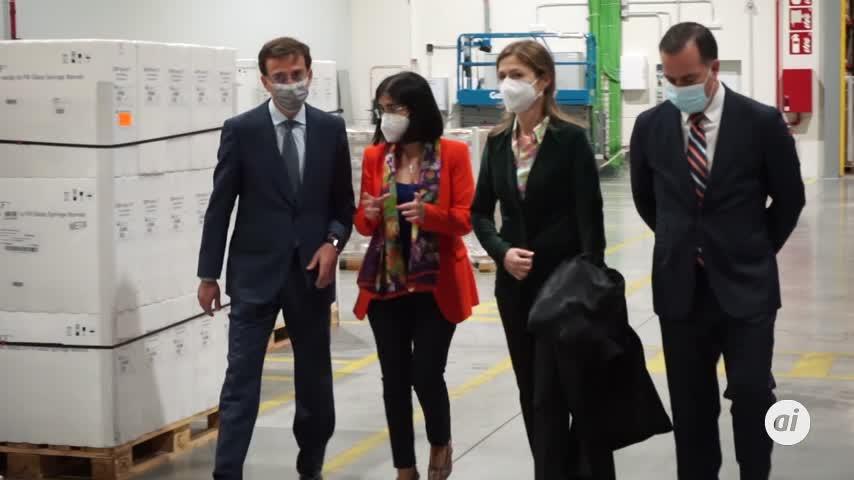 España recibe las primeras 146.000 dosis de Janssen