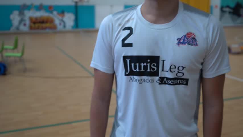 José Antonio Hueso, entrenador del EDM Arcos júnior B de baloncesto