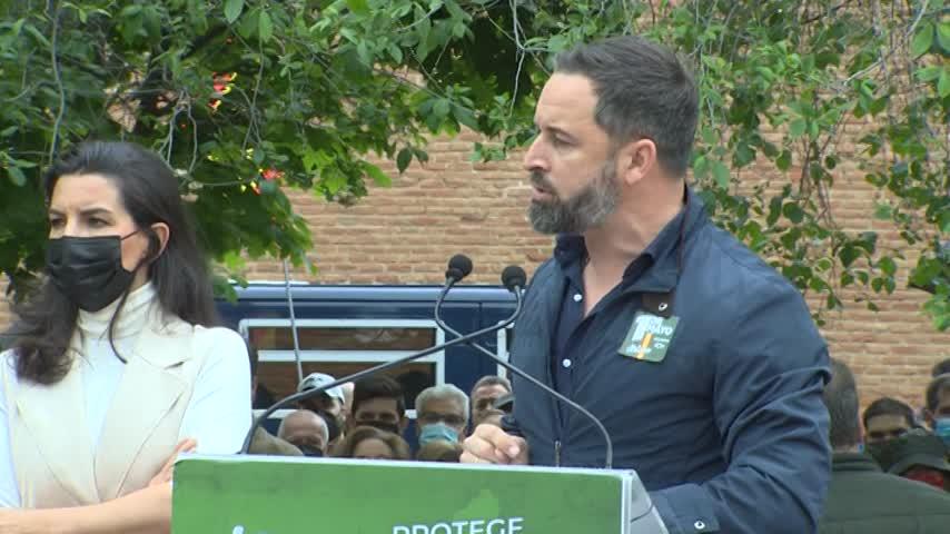 Abascal dice que Jorge Javier Vázquez y Pablo Iglesias son