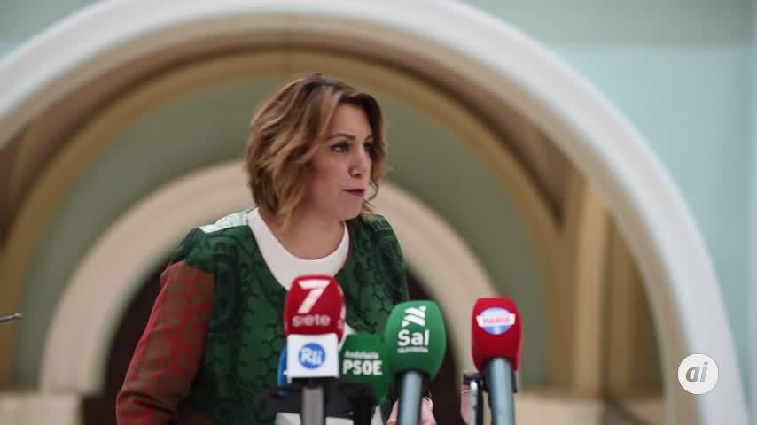 Susana Díaz pide a Moreno Bonilla levantar el cierre perimetral entre provincias