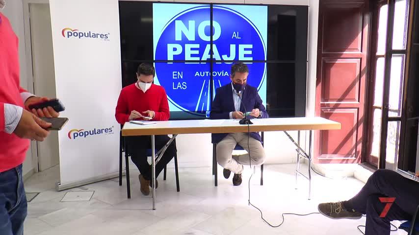 El PP de Jerez propone un frente común contra los peajes planteados por Pedro Sánchez