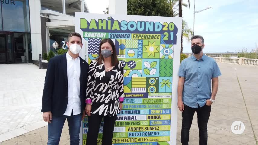 San Fernando se consolida este verano como ciudad de conciertos con el ciclo Bahía Sound