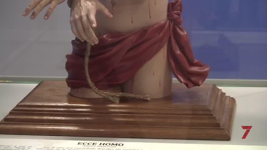 El Museo de Chiclana cuenta con el 'Ecce Homo' de Ángel Pantoja como 'Pieza invitada'