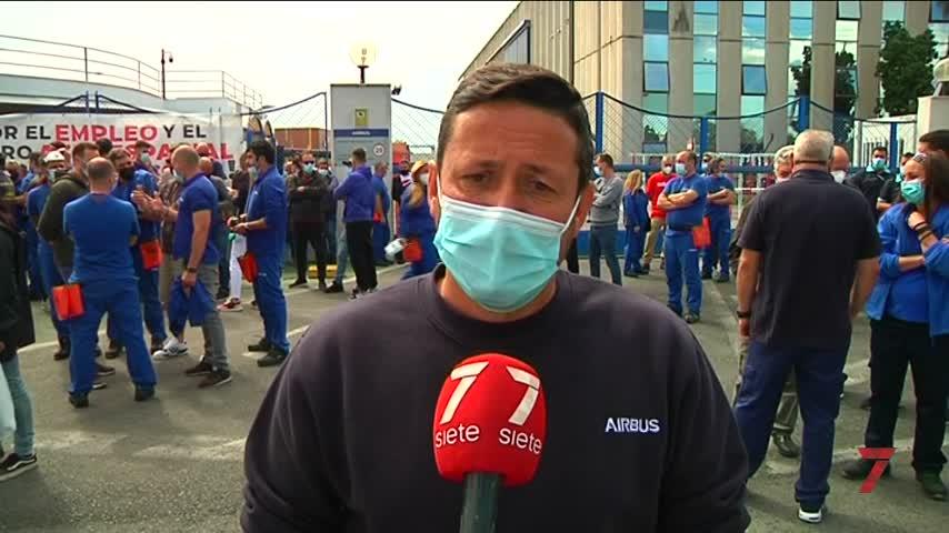 La acampada a las puertas de Airbus-Puerto Real cumple una semana