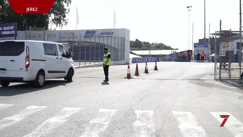 Los accesos al Circuito de Jerez se cierran a los moteros y la Policía pide prudencia
