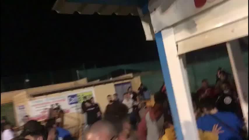 Multitudinaria bronca en un partido de fútbol en Villaverde del Río con más de 10 heridos