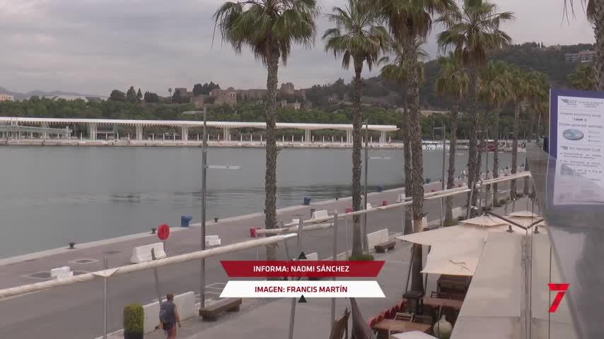 Arrancan las obras del proyecto para megayates en el puerto de Málaga