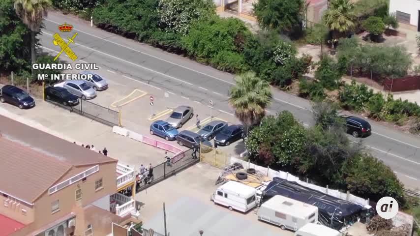 Detienen a un narcotraficante huido tras acudir a una comunión en La Algaba