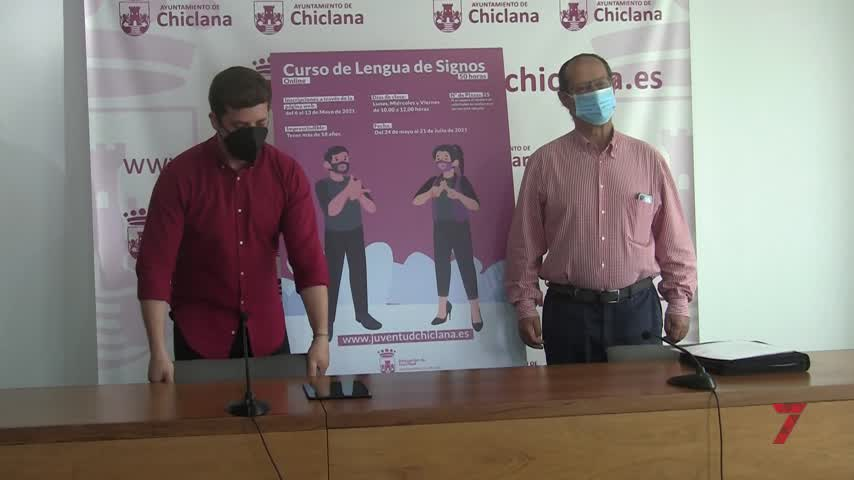 El Ayuntamiento de Chiclana pone en marcha un nuevo curso de lengua de signos