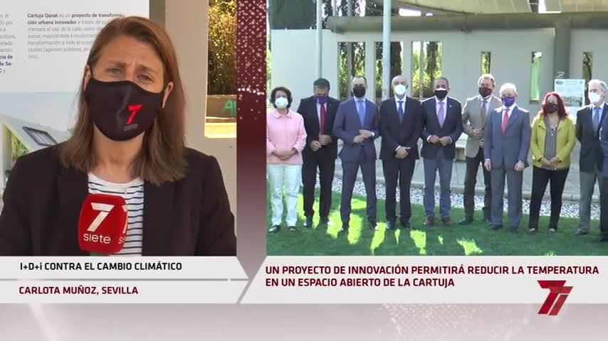La Cartuja de Sevilla convertirá una de sus avenidas en un oasis verde contra el calor