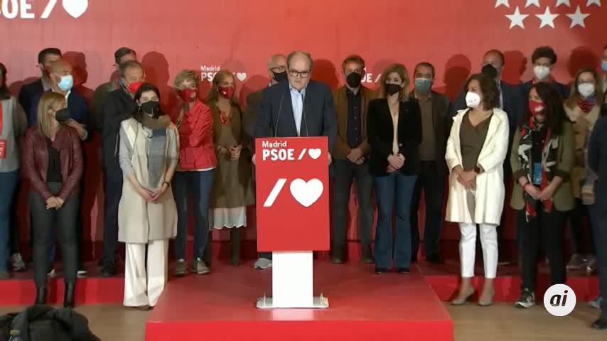 Gabilondo, tras el batacazo del PSOE:
