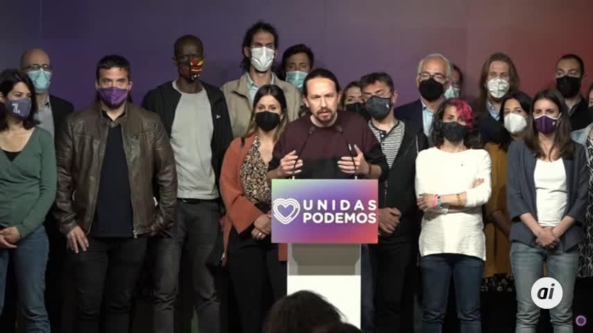 Pablo Iglesias anuncia que deja la política porque ha sido