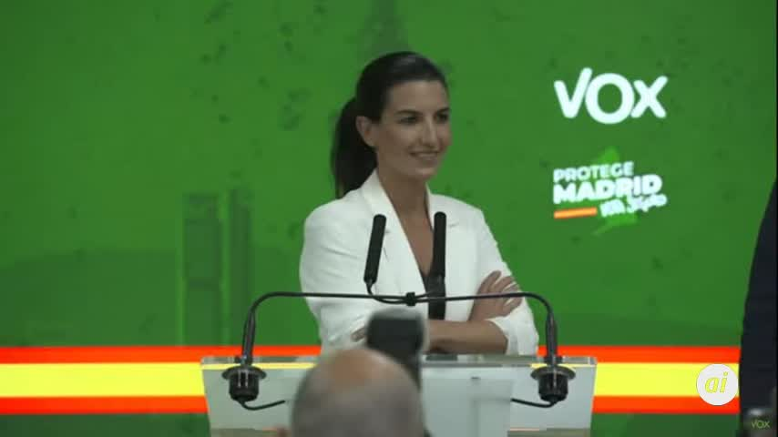 Vox votará a favor en la investidura a Díaz Ayuso y permitirá que forme gobierno