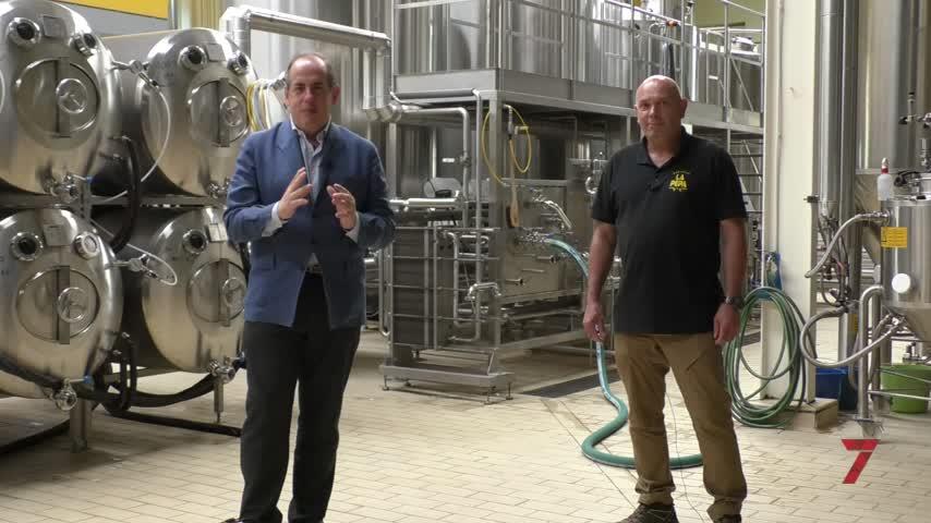 La Pepa: seis tipos de cervezas, seis.
