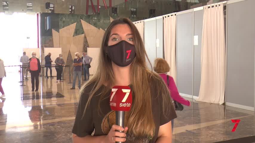 Vacunación para 1.500 personas al día en el Palacio de Ferias de Málaga