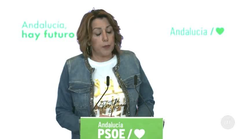 Díaz se suma a la petición de adelanto de primarias en el PSOE andaluz