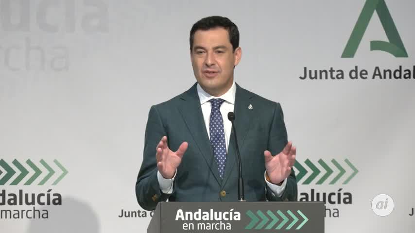 Juanma Moreno quiere mantener el cierre de municipios con alta incidencia