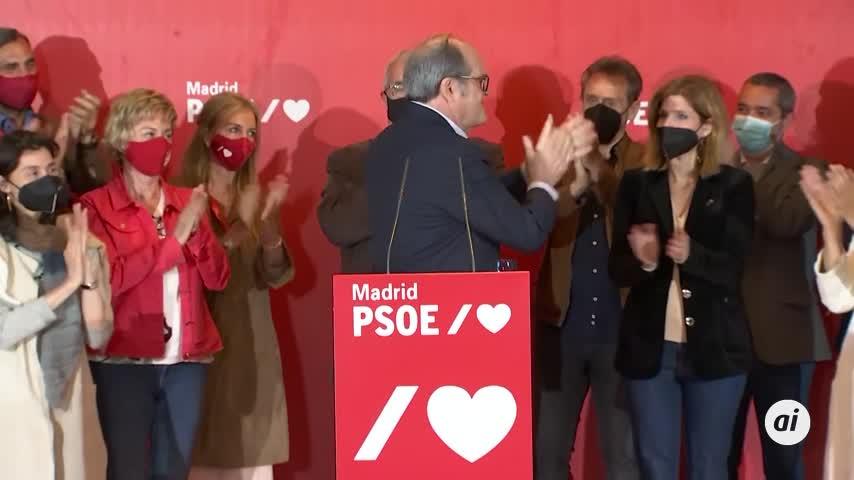 Dimite el secretario general del PSOE de Madrid tras el fracaso electoral