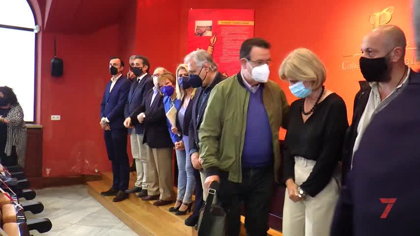 Emotiva despedida a Caballero Bonald en la sede de su fundación de Jerez