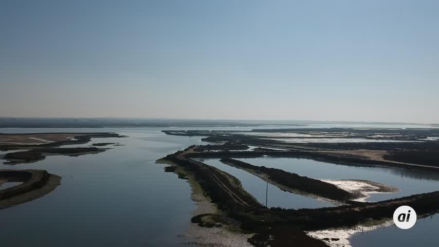 Una ciudad a expensas de que se la trague el mar a trozos en un periodo de diez años
