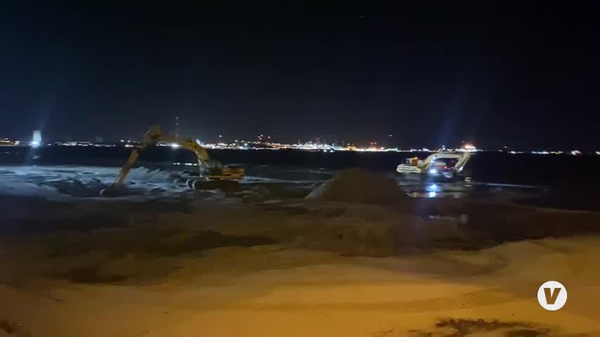 Nuevas voces de alerta por la arena trasvasada en El Rinconcillo en Algeciras