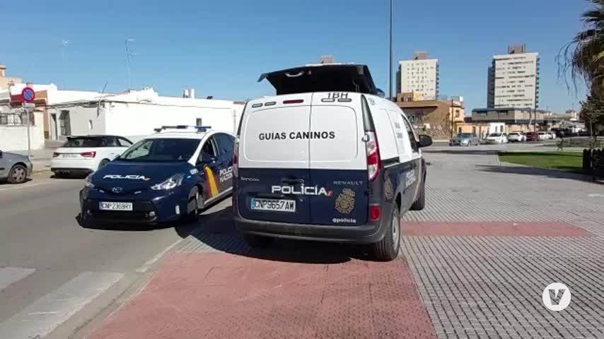 Más de cien agentes participan en una operación contra el narco en la Bahía de Cádiz