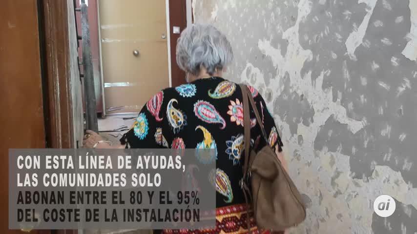 Urbanismo mantiene su compromiso con la instalación de ascensores en bloques antiguos