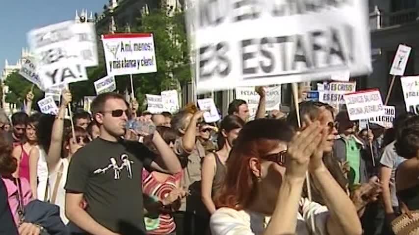 Se cumplen 10 años del 15M, el terremoto que cambió la política española