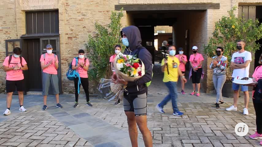 Abel Mansilla consiguió el 'Reto de 24 Horas sin Parar de Caminar'