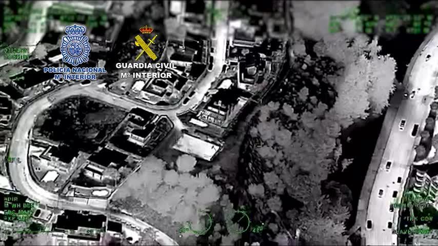 Varios detenidos en Málaga en una operación nacional contra el tráfico de hachís