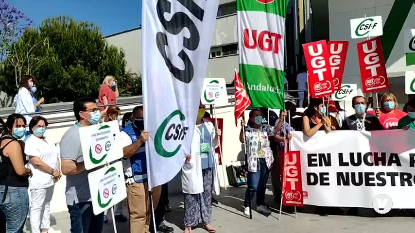 """Los sanitarios andaluces: """"En plena pandemia nos roban una paga"""""""
