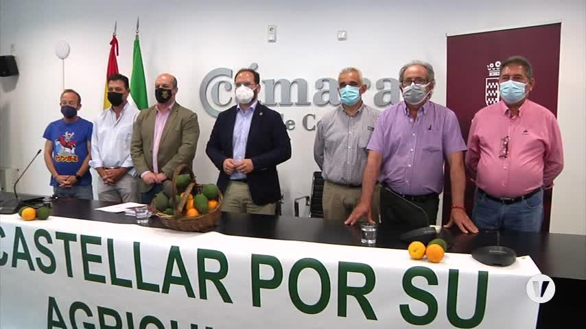 Castellar presenta su tractorada contra las fotovoltaicas y pide una regulación
