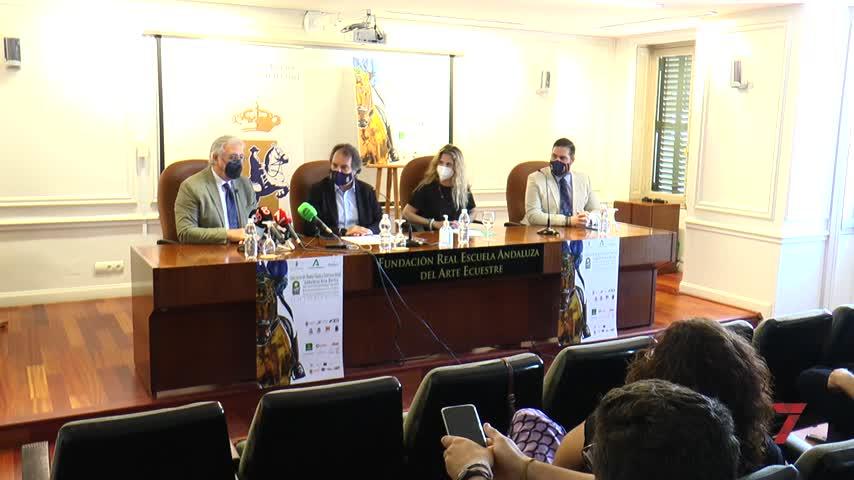 La Real Escuela acoge el Concurso de Doma Clásica Internacional 'Andalucía deja Huella'