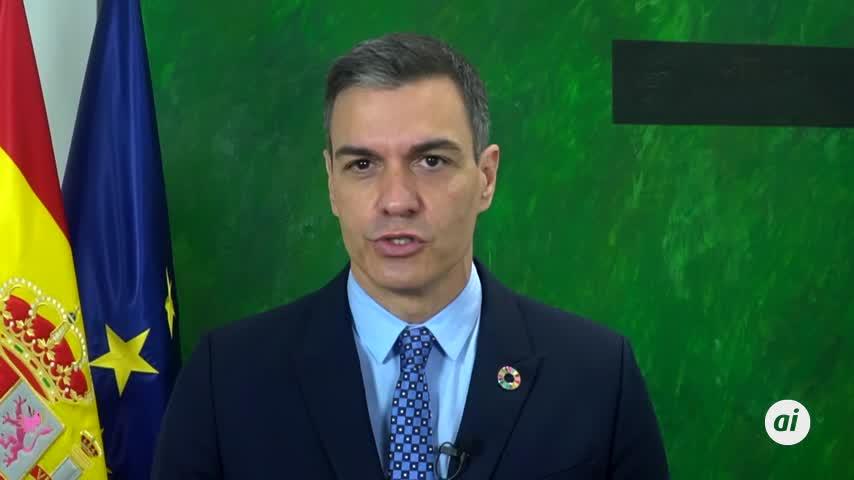 Sánchez pide elevar la ambición para alcanzar la neutralidad climática en 2050