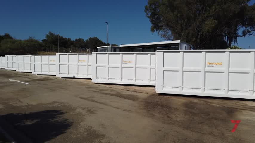 El segundo punto limpio de San Fernando ya está operativo en la zona de Camposoto