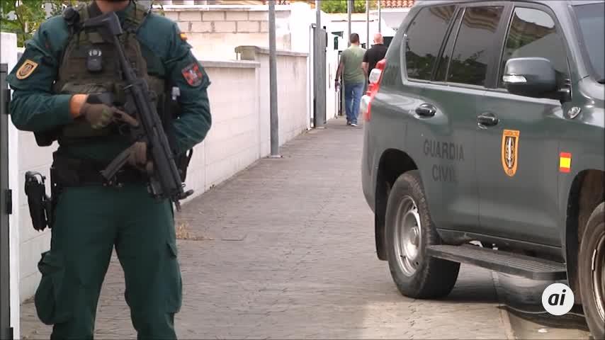 La Guardia Civil interviene 15 millones de euros, la mayor cantidad incautada en España