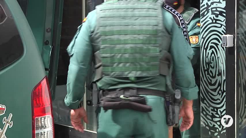 La Guardia Civil vuelve a desplegarse en Algeciras en una nueva operación
