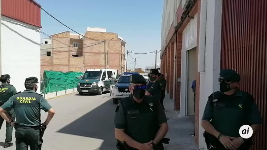 La Guardia Civil reconstruye el crimen de Rocío con el exnovio en la casa de Estepa