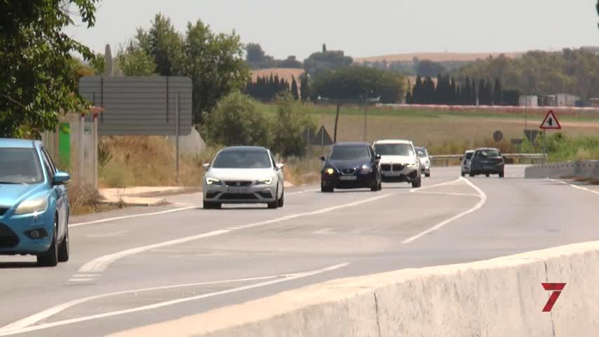 Cruce de reproches por los 2,2 km sin iluminación de la A-2003